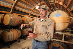 Winemaker Lee Bradley