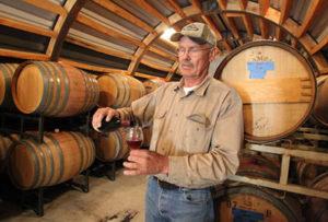 Winemaker Lee Bradley